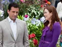Steve Carell and Julianne Moore navigate the treacherous waters of matrimony in Crazy, Stupid, Love.