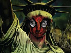 "Everyone in New York City gets spider powers in the ""Spider-Island"" story arc in The Amazing Spider-Man."