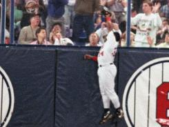 Minnesota's Kirby Puckett made this memorable catch against the wall in Game 6 of the 1991 World Series.