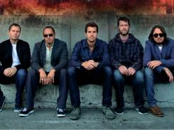 The guys of 311: Chad Sexton, left, Sa Martinez, Nick Hexum, P-Nut  and Tim Mahoney.