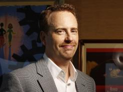At the office:  Bob Greenblatt, 50, is looking for the next smash at NBC, but he's awake to the realities and the difficulties of network programming.