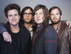 Jared, left, Nathan , Matthew  and Caleb Followill are the members of The Kings of Leon. After Caleb abruptly left the stage during a Dallas performance, the band was forced to cancel the concert. They will return to play on Sept. 21.