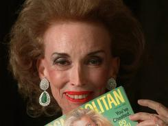 "Cosmopolitan editor in chief Helen Gurley Brown put her personal stamp on the magazine, the bible of ""single girls."""