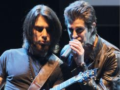 Alt-rock originals:  Dave Navarro, left, and Perry Farrell of Jane's Addiction..