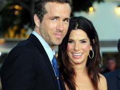 Sandra Bullock made a surprise appearance at the premiere of Ryan Reynolds' 'The Change-Up.'