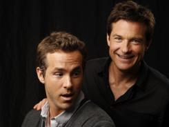 Real-life pals Ryan Reynolds and Jason Bateman trade lives in the new comedy 'The Change-Up.'
