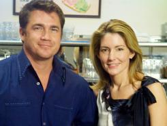 Director Tate Taylor and author Kathryn Stockett have been friends since they were 5 years old.