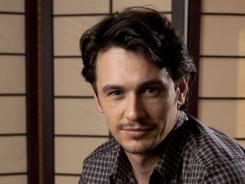Not the second banana:  James Franco stars in  Rise of the Planet of the Apes , out today.