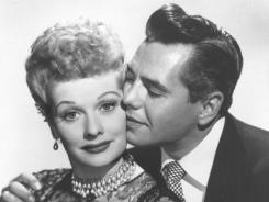 Comedian-actress Lucille Ball -with her ex-husband, musician-actor Desi Arnaz - would have celebrated her 100th birthday on Saturday.