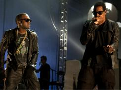 Kanye West and Jay-Z's 'Watch the Throne' also features other superstar contributors, including Beyonce.