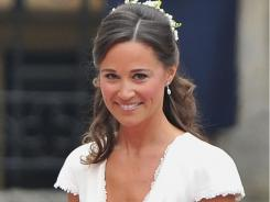 That name, that nose, that spunk!  Pippa Middleton, pictured at Kate and William's wedding, has become a model for plastic-surgery patients and a constant subject for celeb websites.