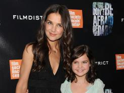 "Bailee Madison, 11, says her co-star Katie Holmes took great care of her while they filmed scary movie 'Don't Be Afraid Of The Dark.' ""We were having dance parties and just getting to bond,"" Madison recalls."