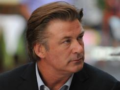 To prepare, Alec Baldwin says he's talking with two universities about enrolling in a master's program in politics and government.