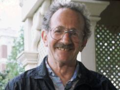 Philip Levine in 1995, at Vanderbilt University in Nashville, Tenn.