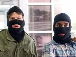 Nick (Jesse Eisenberg) and Chet (Aziz Ansari) are caught up in a plot to rob a bank -- and a bomb is ticking away.