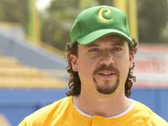 A bulletproof tiger, dude: Danny McBride is Kenny Powers in Eastbound & Down.