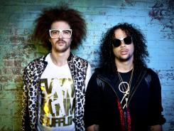 Boys just wanna have fun:  LMFAO's Redfoo, left, Sky Blu, the son and grandson of Motown founder Berry Gordy, are on tour with Ke$ha.
