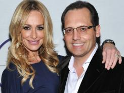 Taylor Armstrong and her husband, Russel were in the midst of a divorce. He has been found dead in his Los Angeles home. He was found hanging, but no suicide note has been found.