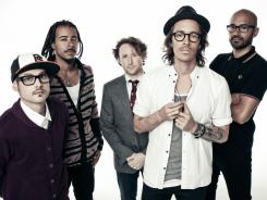 Jose Pasillas, left, Chris Kilmore, Mike Einziger, Brandon Boyd and Ben Kenney are Incubus, a  band that came together in California in the early 1990s.
