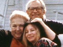 Barbra Streisand's new album is a tribute to her friends here, songwriters Marilyn and Alan Bergman.