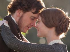 Michael Fassbender and Mia Wasikowska star in the romantic remake 'Jane Eyre.'