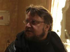Don't Be Afraid of the Dark: Bailee Madison and Guillermo del Toro work on the set of the film, a remake of a 1973 made-for-TV movie.
