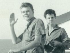Charles Axton, left, and Ronnie Stoots were members of The Mar-Keys in 1961.