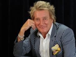 He's in your heart, he's in your soul:  Rod Stewart: The Hits opens tonight at Caesars Palace in Las Vegas.