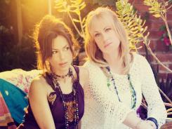Re-Bangled: Susanna Hoffs, left, and Debbi Peterson of 1980s stalwarts The Bangles are back with their first album in eight years.