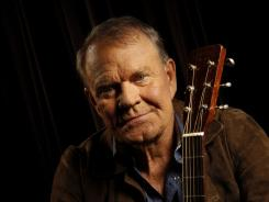 No more encores: Glen Campbell, who is in the early stages of Alzheimer's disease, crafted Ghost on the Canvas as a farewell to his long career.