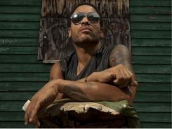 Lenny Kravitz has a new album, 'Black and White America,' and he's starring in the movie 'The Hunger Games.'