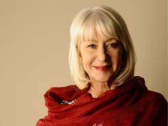 Helen Mirren's latest film, The Debt, finds her once again in the espionage genre.