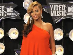 Beyonce created a stir on Twitter when she showed off a baby bump at the 2011 MTV Video Music Awards.
