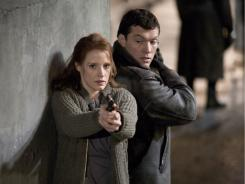 Jessica Chastain and Sam Worthington play young Israeli agents hunting a Nazi war criminal in 1965.