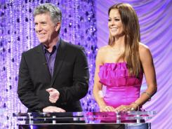 Hosts Tom Bergeron and Brooke Burke announced the new crew Monday night; next time, they'll tell us who's partnered with whom. The new cast will dance either the Cha Cha Cha or The Viennese Waltz on Monday, Sept. 19 at 8 p.m. ET/PT.