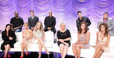 Meet the new 'DWTS' cast: Ron Artest, back row left, David Arquette, J.R. Martinez, Rob Kardashian, Chaz Bono. Front row: Ricki Lake, left, Kristin Cavallari, Chynna Phillips, Nancy Grace, Hope Solo, Elisabetta Canalis.