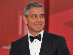 Clooney directs the film, 'The Ides Of March,' starring Ryan Gosling.