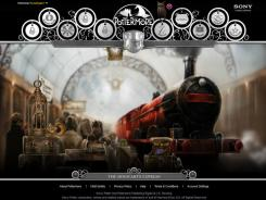 The Hogwarts Express rolls into the wizarding worldwide website Pottermore.