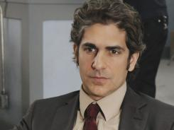 Former conflicted Sopranos gangster  Michael Imperioli plays a conflicted cop in ABC's Detroit 1-8-7.
