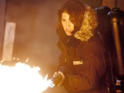 The Thing: Mary Elizabeth Winstead flames a horrifying alien.