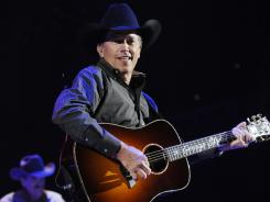 Veteran country star George Strait gets reflective on his new album, 'Here for a Good Time.'