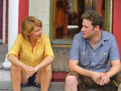 "Seth Rogen stars with Michelle Williams in Sarah Polley's  ""Take This Waltz."" Rogen's other film at the festival is comedy drama  ""50/50."""