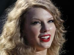Swift will compete with Blake Shelton, Keith Urban, Jason Aldean and Brad Paisley.
