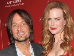 "When Keith Urban helped develop his own fragrance, wife Nicole Kidman was ""my first point of reference."""