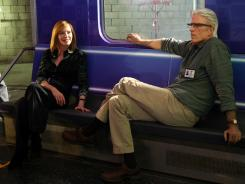 "On ""CSI,"" Marg Helgenberger is again threatening to leave over pay, while Ted Danson has moved in to replace Laurence Fishburne, who replaced William Petersen on the long-running show."