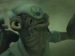 He's Captain Ackbar here, but he still plays a vital role in Star Wars: The Clone Wars on Cartoon Network.