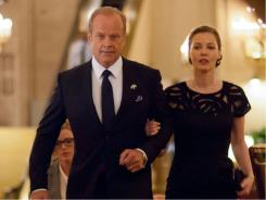 Boss :  Kelsey Grammer is the mayor of Chicago and Connie Neilson is his wife.