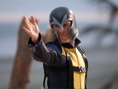 Michael Fassbender portrays Erik Lehnsherr, who has the power to control magnetism, in 'X-Men: First Class.'
