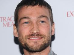 Andy Whitfield died of non-Hodgkins lymphoma on Sunday.
