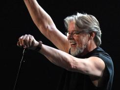 We've got tonight:  Bob Seger, shown here in concert in Toronto in April, hits the road again in November.